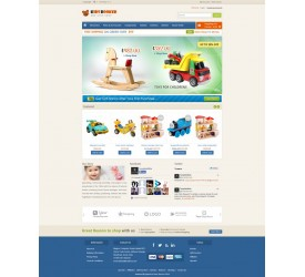Childrens Store Template 3