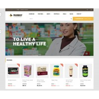 Pharmacy Template 3