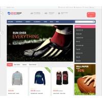 Sport Shop Template 5