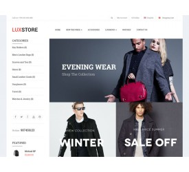 Lux Store Template