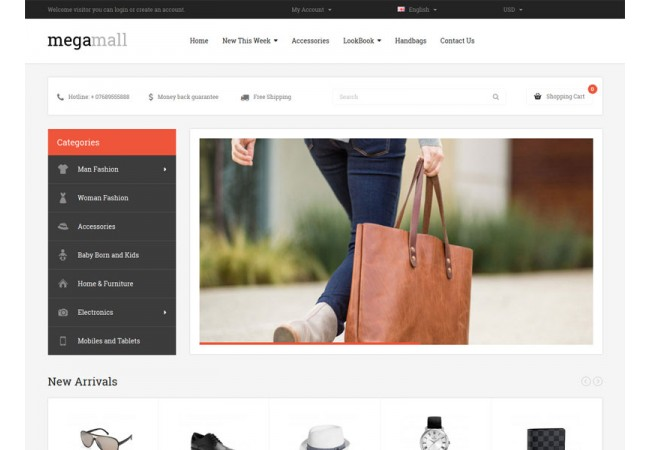 MegaMall Store Template